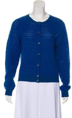 Marc Jacobs Cashmere Medium-Weight Cardigan Blue Cashmere Medium-Weight Cardigan