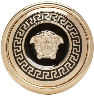 Versace Gold Medusa Medallion Ring $275 thestylecure.com