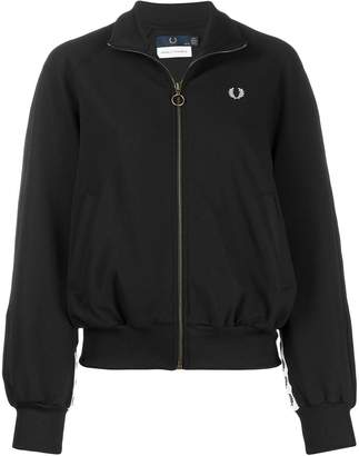 Fred Perry embroidered logo bomber jacket