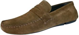 Red Tape Cranfield Mens Leather Suede Slip On Loafers / Shoes