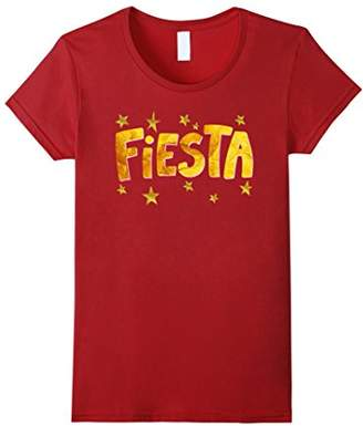 Cute Fiesta Gold Party Stars Birthday Festival Cool T Shirts