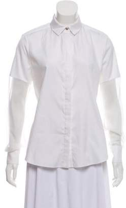 Prabal Gurung Collared Button-Up Top w/ Tags White Collared Button-Up Top w/ Tags