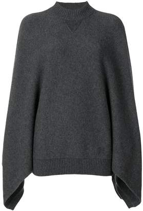 Givenchy poncho style jumper