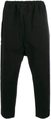 Isabel Benenato drop-crotch trousers