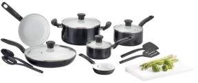 T-Fal Initiatives Ceramic 16pc Frying Pan Set