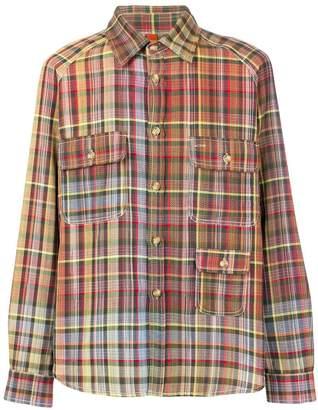 Missoni checked button shirt