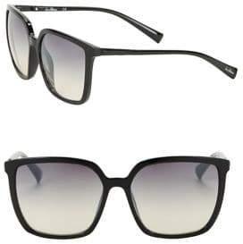 Sam Edelman 57MM Square Sunglasses