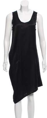 Ann Demeulemeester Silk Knee-Length Dress