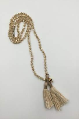 Chan Luu Skull Tassel Necklace