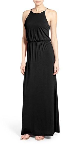 Women's Lush High Neck Maxi Dress