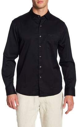 Tommy Bahama Oasis Twill Solid Trim Fit Shirt