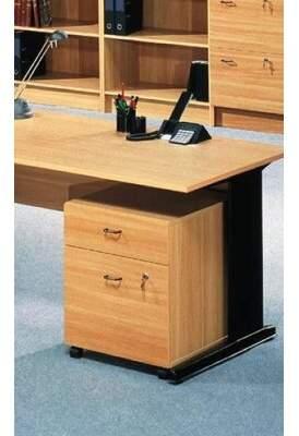 "Rebrilliant Ellzey 2-Drawer Mobile Vertical Filing Cabinet Rebrilliant Size: 6.5"" H x 19.5"" W x 31.5"" D, Color: Cherry"