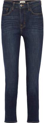 L'Agence High 10 High-rise Skinny Jeans - Dark denim