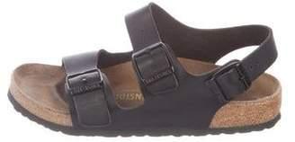 Birkenstock Leather Ankle Strap Sandals