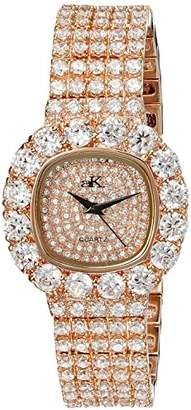 Adee Kaye Women's AK26N-LRG/CR Bijou Analog Display Quartz Rose Gold Watch