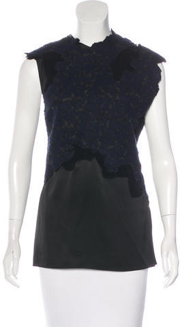 3.1 Phillip Lim 3.1 Phillip Lim Sleeveless Embroidered Top