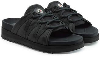 Moncler Fabric Sandals