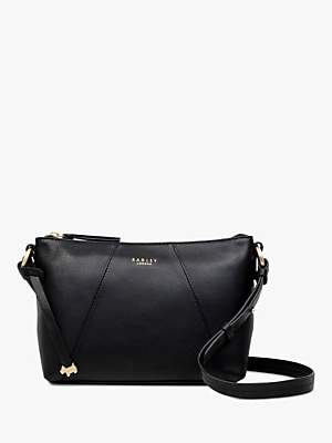 6da89f4492 Radley Wood Street Medium Leather Zip Top Cross Body Bag