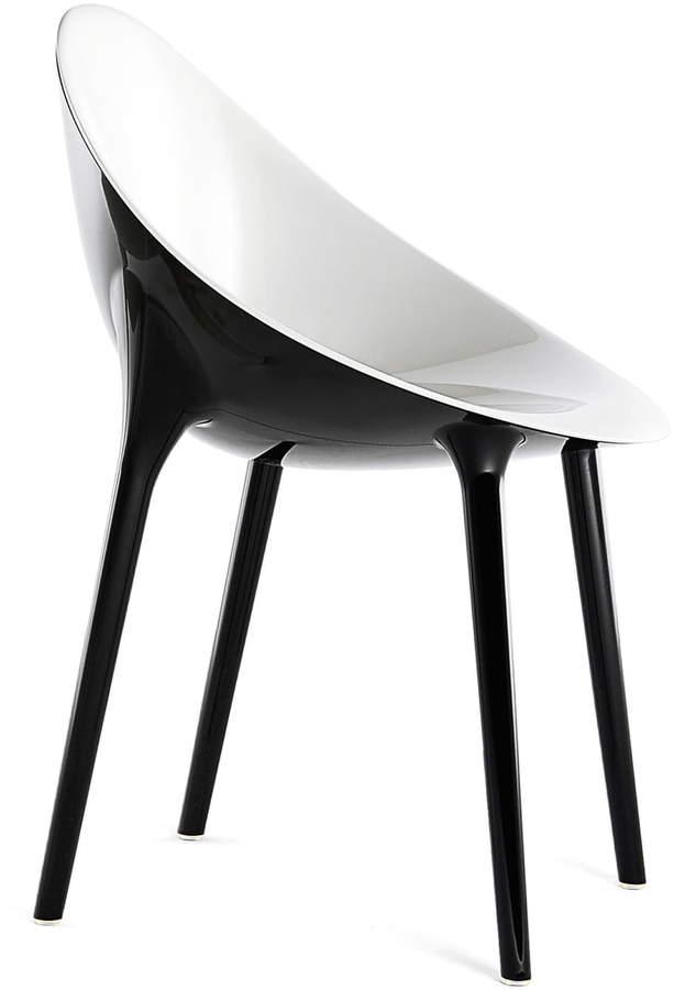 Super Impossible Stuhl, Weiß / schwarz