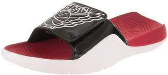 8035d4bfb8f7 Nike Jordan Men s Hydro 7 Black White Gym Red White Sandal 11 Men
