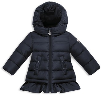 Moncler Girls' Ruffled Down Jacket - Baby $385 thestylecure.com