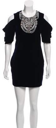 Rebecca Minkoff Velvet Embellished Dress