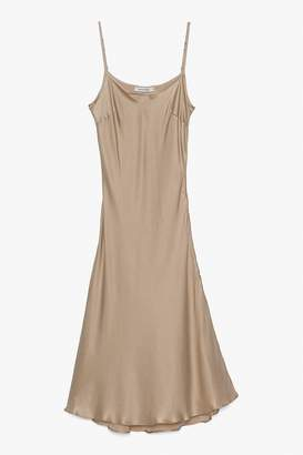 Genuine People Slip on Silk Dress