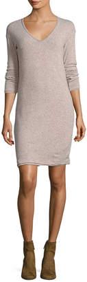 Three Dots Wool Blend Sweater Dress