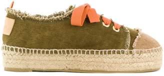Castaner lace-up platform espadrilles