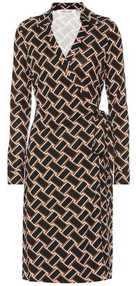 Diane von Furstenberg (ダイアン フォン ファステンバーグ) - Diane von Furstenberg New Jeanne silk-jersey wrap dress