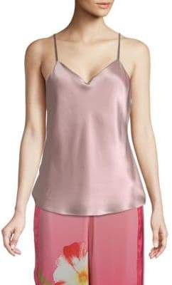 Josie Key Essential Silk Tank Top