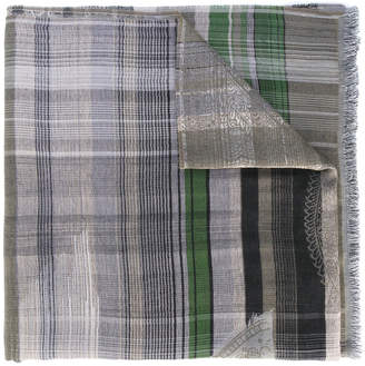 Etro plaid scarf