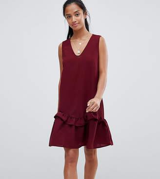 Vero Moda Petite Sleeveless Frill Hem Dress
