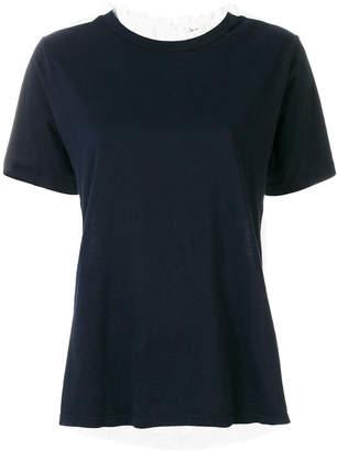 Clu contrast back blouse