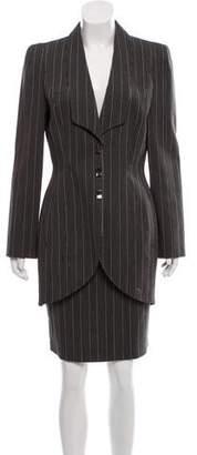 Thierry Mugler Vintage Wool Suit
