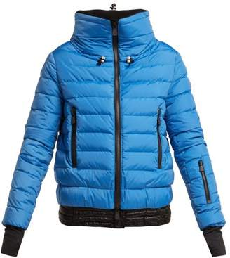 Moncler Vonne Quilted Down Jacket - Womens - Blue