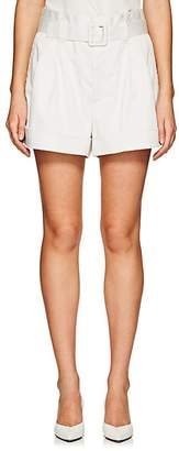 Marc Jacobs Women's Belted Stretch-Cotton Shorts