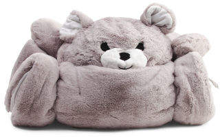 Bear Plush Sleeping Bag