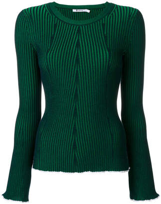 T By Alexander Wang rib knit top