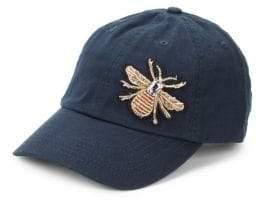 Hat Attack Bee Embellished Baseball Hat