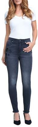 Seven7 High Rise Sequined Skinny Jeans