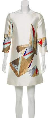 Prabal Gurung Printed Silk Dress