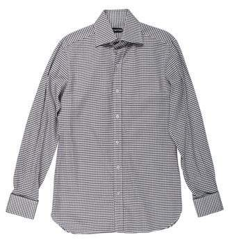 Tom Ford Gingham French Cuff Shirt