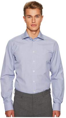 Eton Contemporary Fit Grid Box Shirt