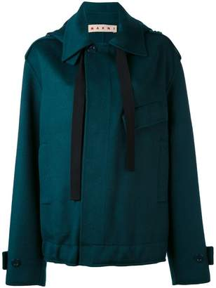 Marni oversized placket jacket