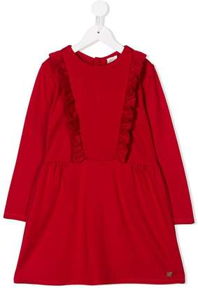 Carrèment Beau ruffle trim dress