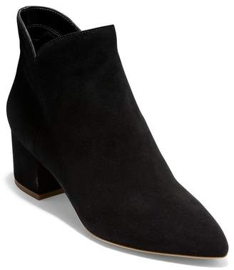 Cole Haan Elyse Suede Pointed Toe Ankle Boot
