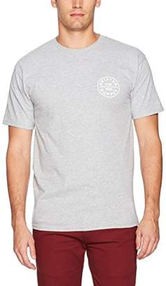 Brixton Men's OATH Short sleeve Standard Tshirt