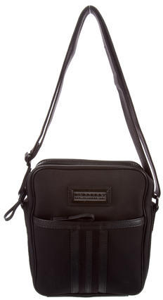 Burberry  Burberry Leather Trimmed Crossbody Bag
