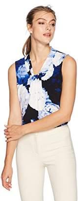 Calvin Klein Women's Printed Knot Neck Cami